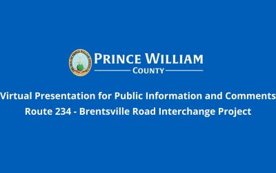 Route 234 – Brentsville Rd Interchange Virtual Presentation