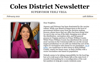 Newsletter: February 2021 – 12th Edition