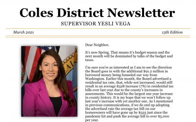 Newsletter: March 2021 – 13th Edition